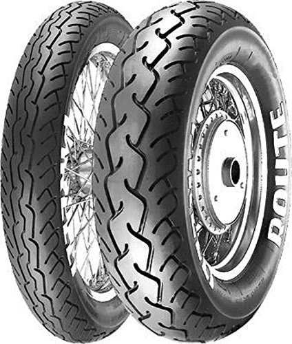 Pirelli MT66 Route Tire - Front - 90/90H-19 , Position: Front, Tire Size: 90/90-19, Rim Size: 19, Load Rating: 52, Speed Rating: H, Tire Type: Street, Tire Application: Cruiser 0800900 by Pirelli (Image #1)