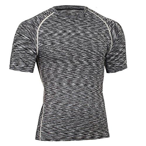 Da Abbigliamento Elasticit Alta Ad Sportivo Uomo eDH2IbWEY9
