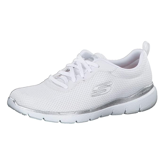 Skechers Flex Appeal 3.0 Sneakers Damen Weiß (White)