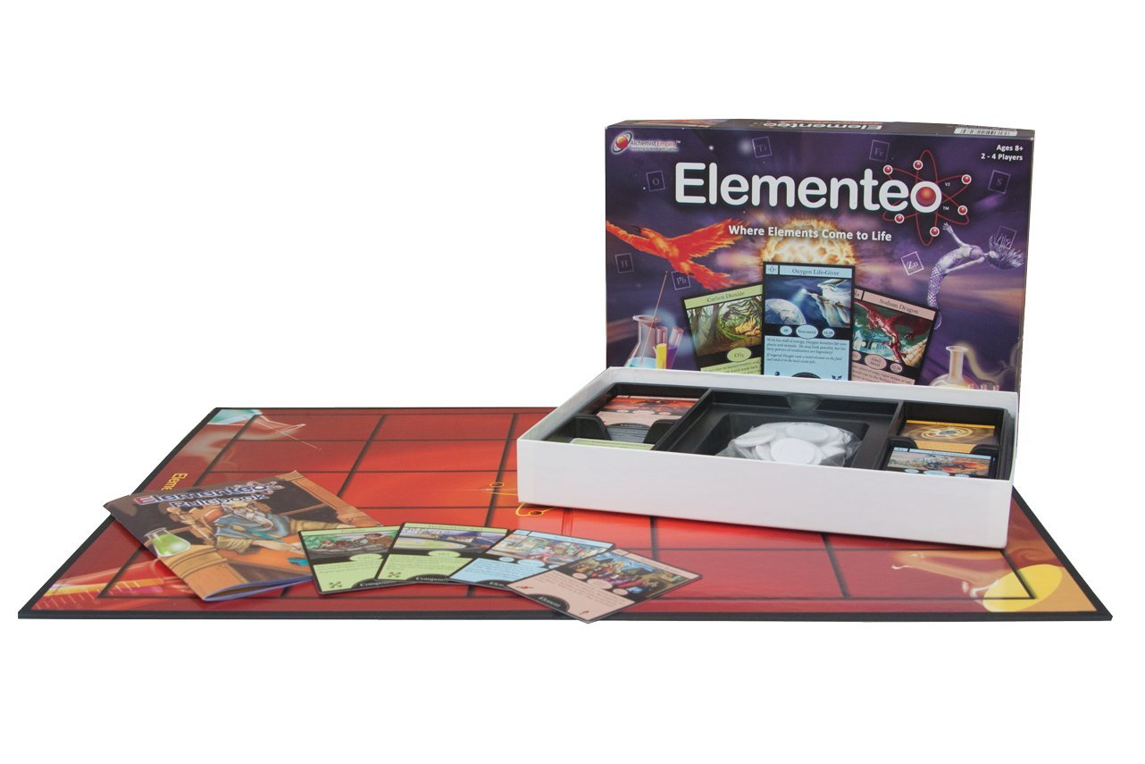 Learn periodic table game gallery periodic table images amazon elementeo chemistry card game 2nd edition create amazon elementeo chemistry card game 2nd edition create gamestrikefo Images