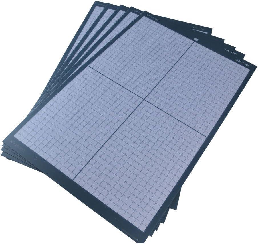 A3 no deslizante vinilo cortador Plotter corte de la alfombra con ...