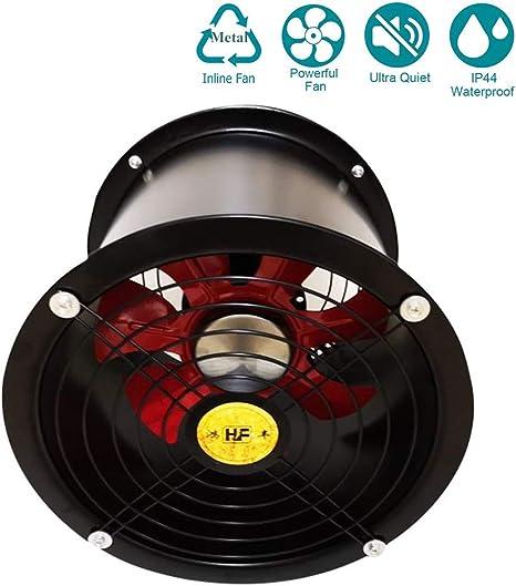 400mm Ventilador Extractor de Aire Silencioso 8513m³/h para ...