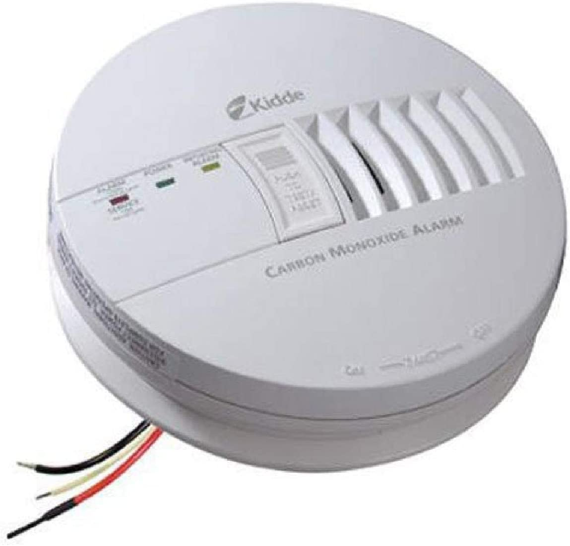 Kidde 21006406 Hardwire Carbon Monoxide Detector Alarm with Battery Backup, Interconnectable Model KN-COB-IC