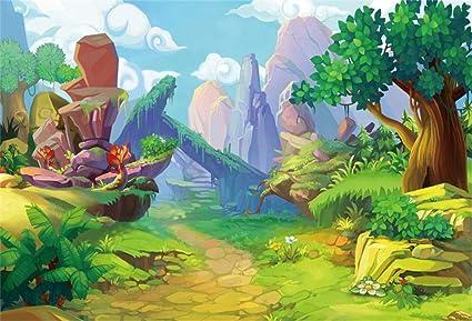 amazon com csfoto 6x4ft background for wonderland magical forest
