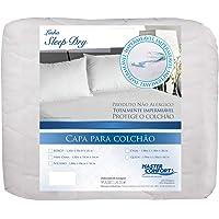 Capa para Colchão Casal Impermeável Sleep Dry 00382-ML Master Comfort Branco 138x188cm Tecido