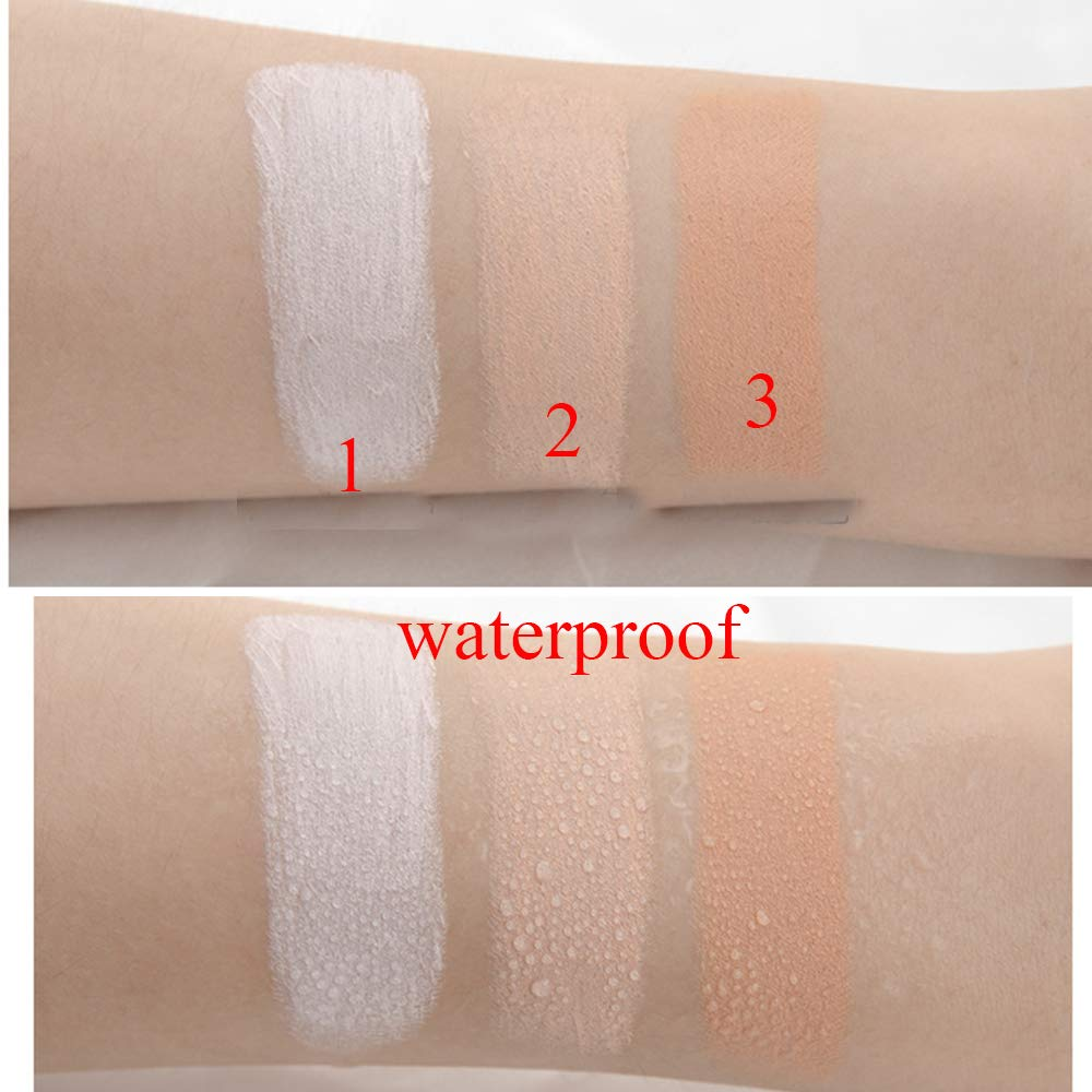 Niceface 3 Colors Makeup Face Contour Concealer Highlighter Stick Set (concealer)