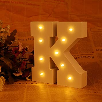 nhsunray led letter lights warm white wooden battery operated alphabet diy decorative marquee lights for bar - Marquee Letter Lights
