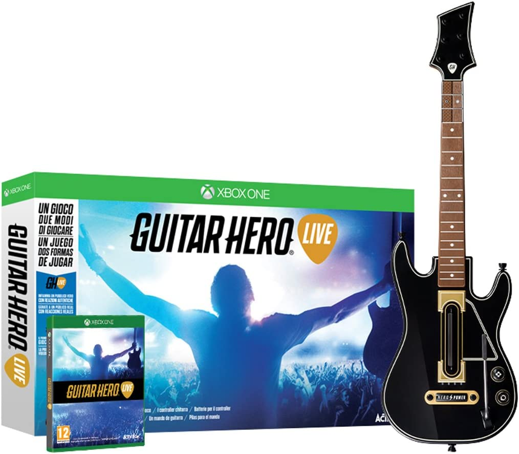 Guitar Hero: Live: Amazon.es: Videojuegos