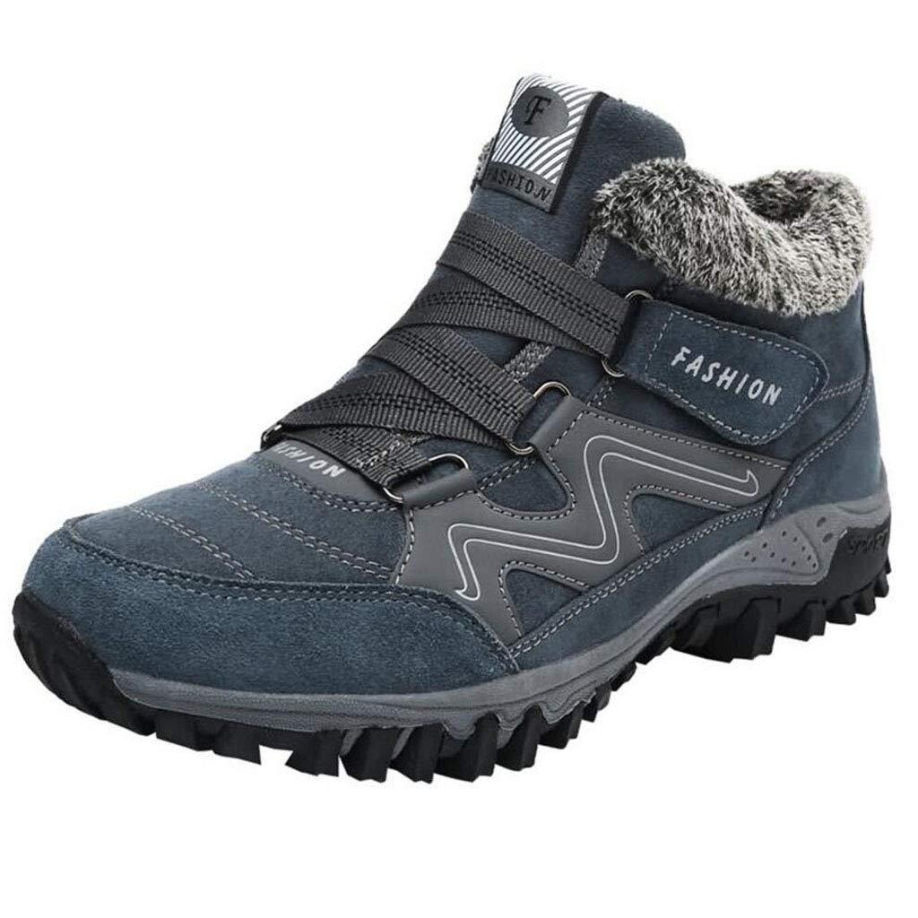 XxoSchuhe Männer mittleren Alters Herbst Winter Martin Stiefel Mode Outdoor High Top Tooling Schuhe warme Baumwolle Schuhe große Größe