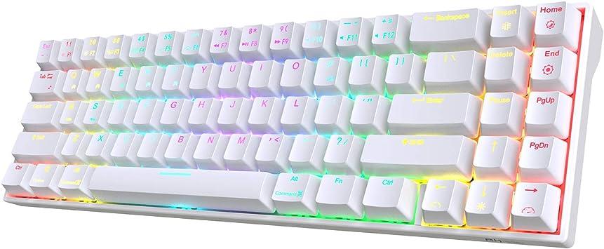 RK ROYAL KLUDGE RK71 teclado mecánico inalámbrico para juegos ...