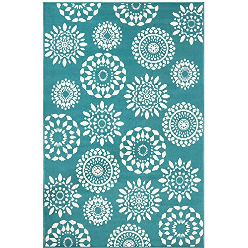 Teal Rugs: Amazon.com