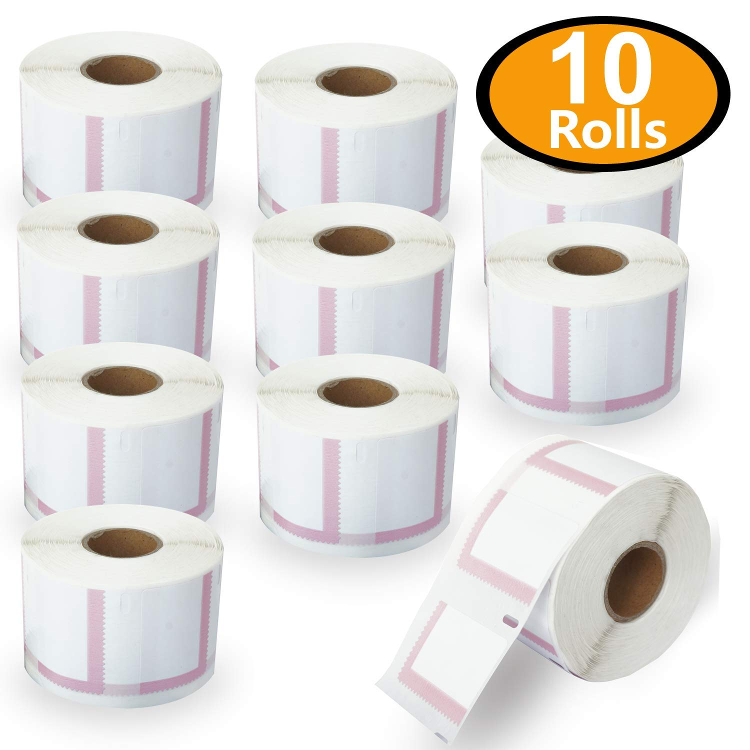 10 Rolls Dymo 30915 Compatible 1-5/8'' x 1-1/4'' Endicia Internet Postage Stamps Labels(Paid Endicia Users ONLY) by BETCKEY