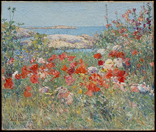 frederick-childe-hassam-celia-thaxters-garden-isles-of-shoals-maine-size-24x30-inch-gallery-wrapped-