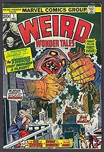 WEIRD WONDER TALES Vol 1 #1 Marvel comic book 12 1973