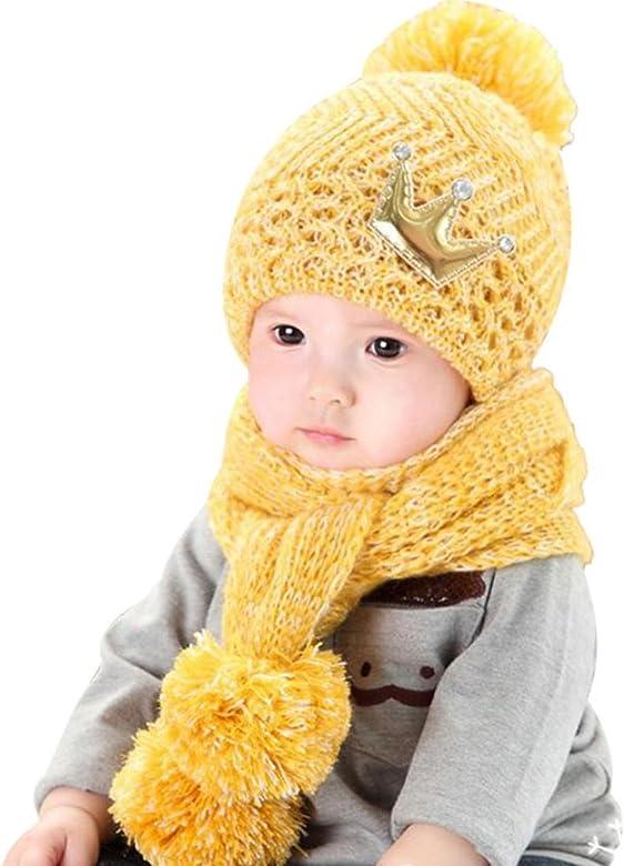 Dragon868 Gorras para bebé, Hermoso bebé de Invierno de Lana ...