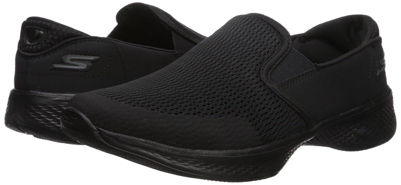 Skechers Women's Go Walk 4-Attuned Sneaker B073GBNXXF 12 B(M) US|Black