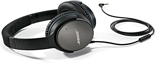 Bose QuietComfort 25 Acoustic Noise Cancelling Headphones for Apple devices – Black Wired 3.5mm