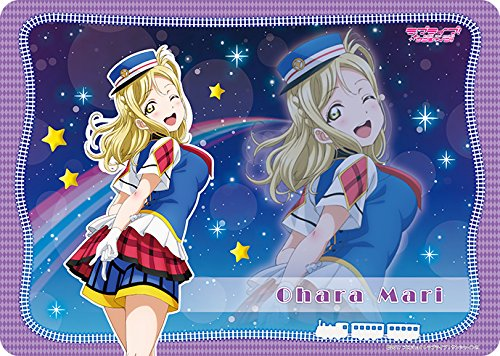 Love Live! Sunshine!! Mari Ohara Happi Happy Party Train Ver. Card Game Character Rubber Play Mat Broccoli Anime Art Collection by Broccoli