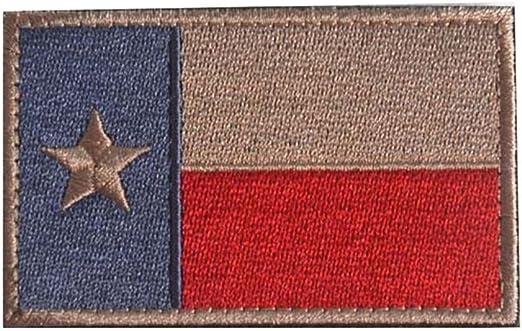 Bandera de Texas cinta táctica parche SWAT Militar ejército insignia brazalete – rojo: Amazon.es: Hogar