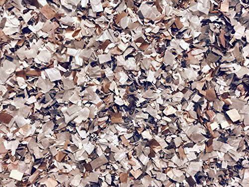 Grey Gray Rose Gold Copper Confetti Mix Biodegradable Wedding Eco Craft Embellishments Decor Bulk Pack (25 Handfuls)