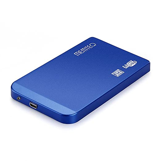 """1496 opinioni per MEMTEQ® Box Case Esterno per 2.5"""" SATA HDD Hard Disk Drive Disco Rigido USB 3,0"""
