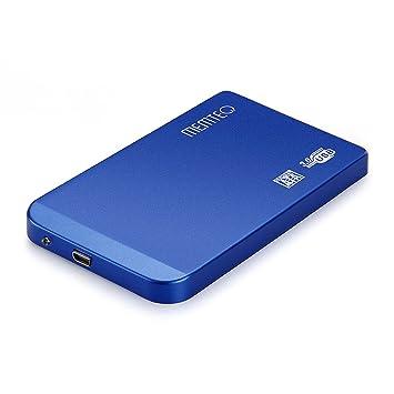 MEMTEQ® 2.5 pulgadas USB 3.0 Caja de Disco Duro Externo SATA Hard Drive Disk Case