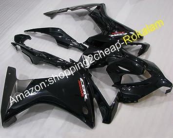 Nuevo embellecedores para moto CBR500R 2013 2014 CBR 500R 13 14 negro Kit de carenado de la motocicleta (moldeado por inyección.): Amazon.es: Coche y moto