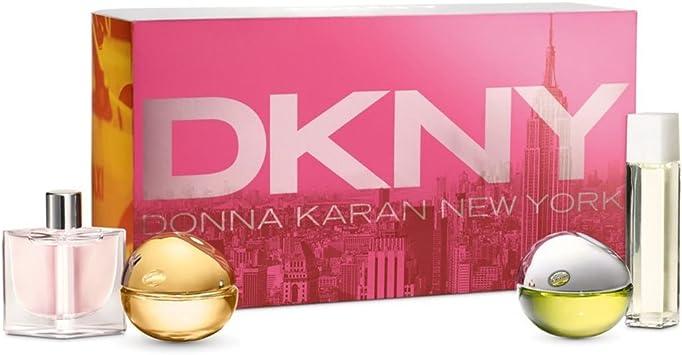 DKNY Miniatures Gift Set 7ml City + 7ml Golden Delicious + 7ml Be Delicious + 4ml Energizing: Amazon.es: Belleza