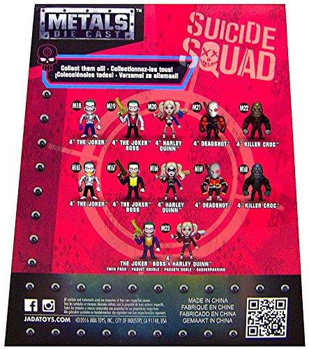 """DC Comics Suicide Squad Killer Croc Die Cast Metal M22 Action Figure 4"""""""