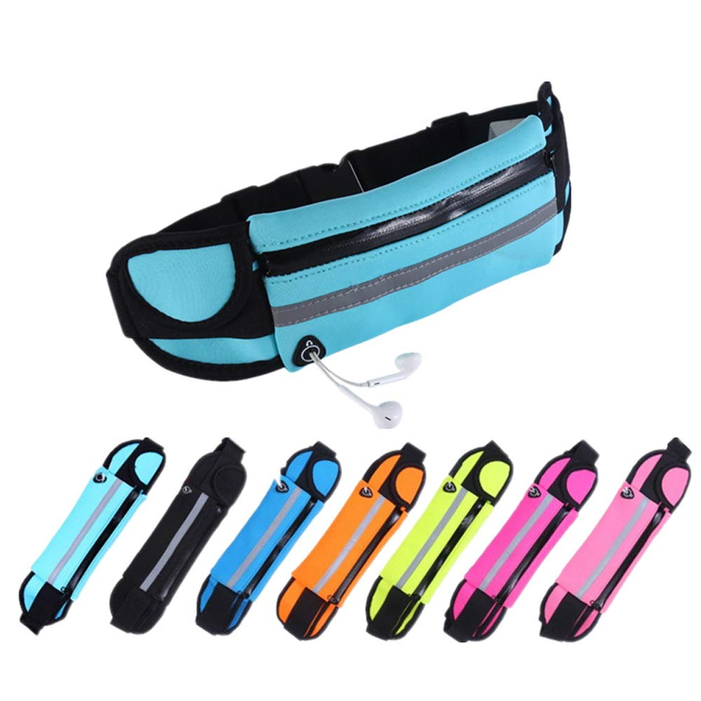 GKPLY Sports Running Belts and Travel Pockets for Jogging Cycling and Outdoor use Waterproof Pockets Fitness Diving Pockets