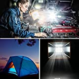 OYOCO Rechargeable LED Work Light COB with Magnetic Base 15W 6.5H Fathers Day Gifts Waterproof Spotlights Outdoor Camping Emergency Lights Floodlights with SOS Mode