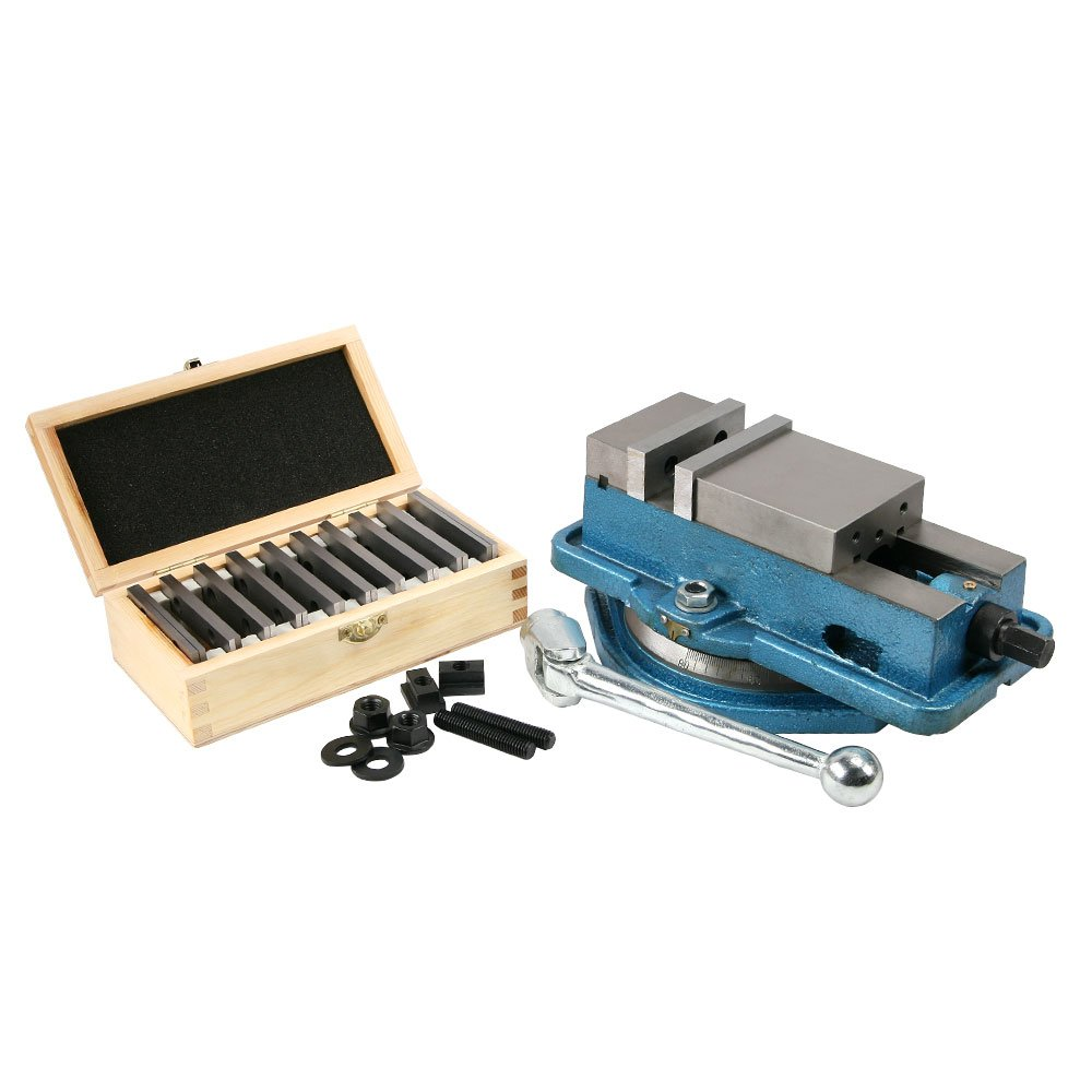 Vise, 3'' Precision Milling Plus Parallels and Mounting Kit by LittleMachineShop.com
