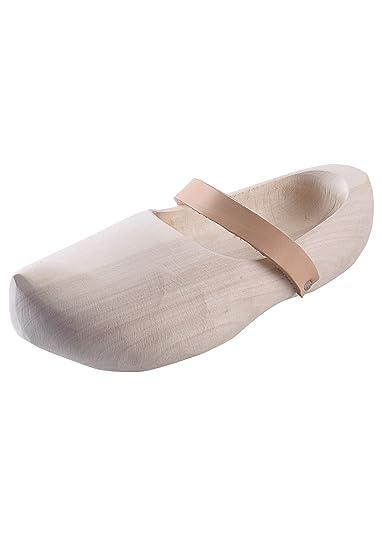 fe079cdf664c Chaussures en bois avec lani egrave re en cuir, plusieurs tailles   ndash  nbsp