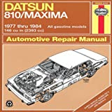 Datsun 810/Maxima 1977 to 1984, John Haynes and T. C. Hosie, 1850100535