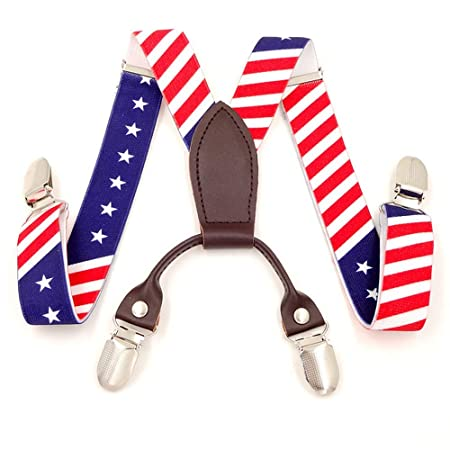 Suspenders [Tirantes de 25 mm para niños del arco iris ...