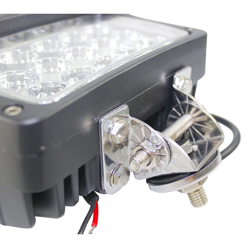 BRIGHTUM 6 X 45W LED Offroad Arbeitsscheinwerfer weiß weiß weiß 12V 24V Reflektor worklight Scheinwerfer Arbeitslicht SUV UTV ATV Arbeitslampe Traktor Bagger LKW KFZ (6 Stück) fef459