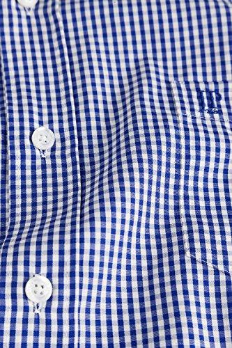 JP 1880 Herren große Größen bis 7 XL | Hemd kariert | Kurzarm Karohemd aus 100% Baumwolle | Brusttaschen & Bügelfrei | Comfort Fit | blau 3XL 703620 71-3XL