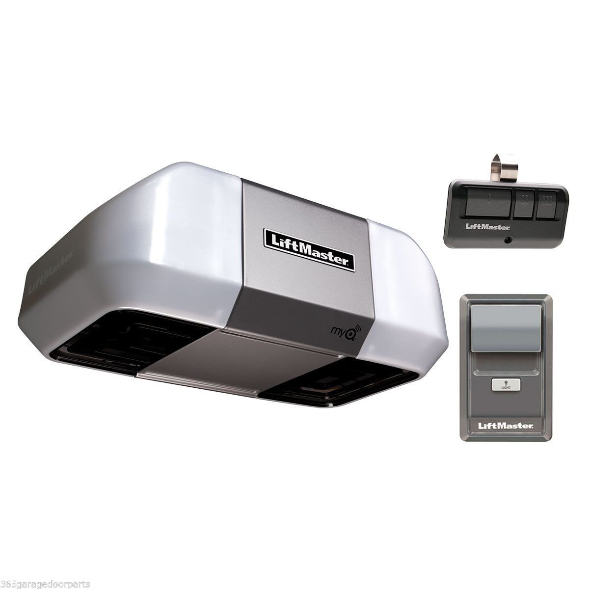 Liftmaster 8355W 1/2hp Belt Drive Motor MyQ Wi-Fi Garage Door Opener Premium No Rail