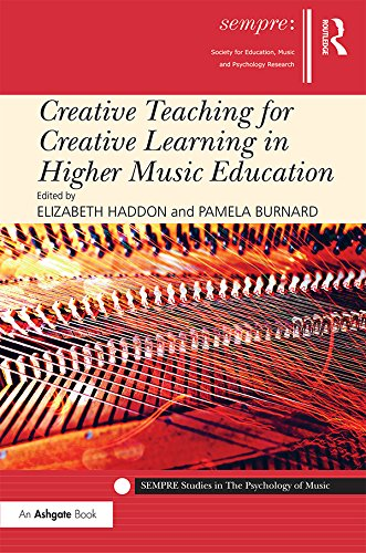 Creative Teaching for Creative Learning in Higher Music Education (SEMPRE Studies in The Psychology of (Higher Music)