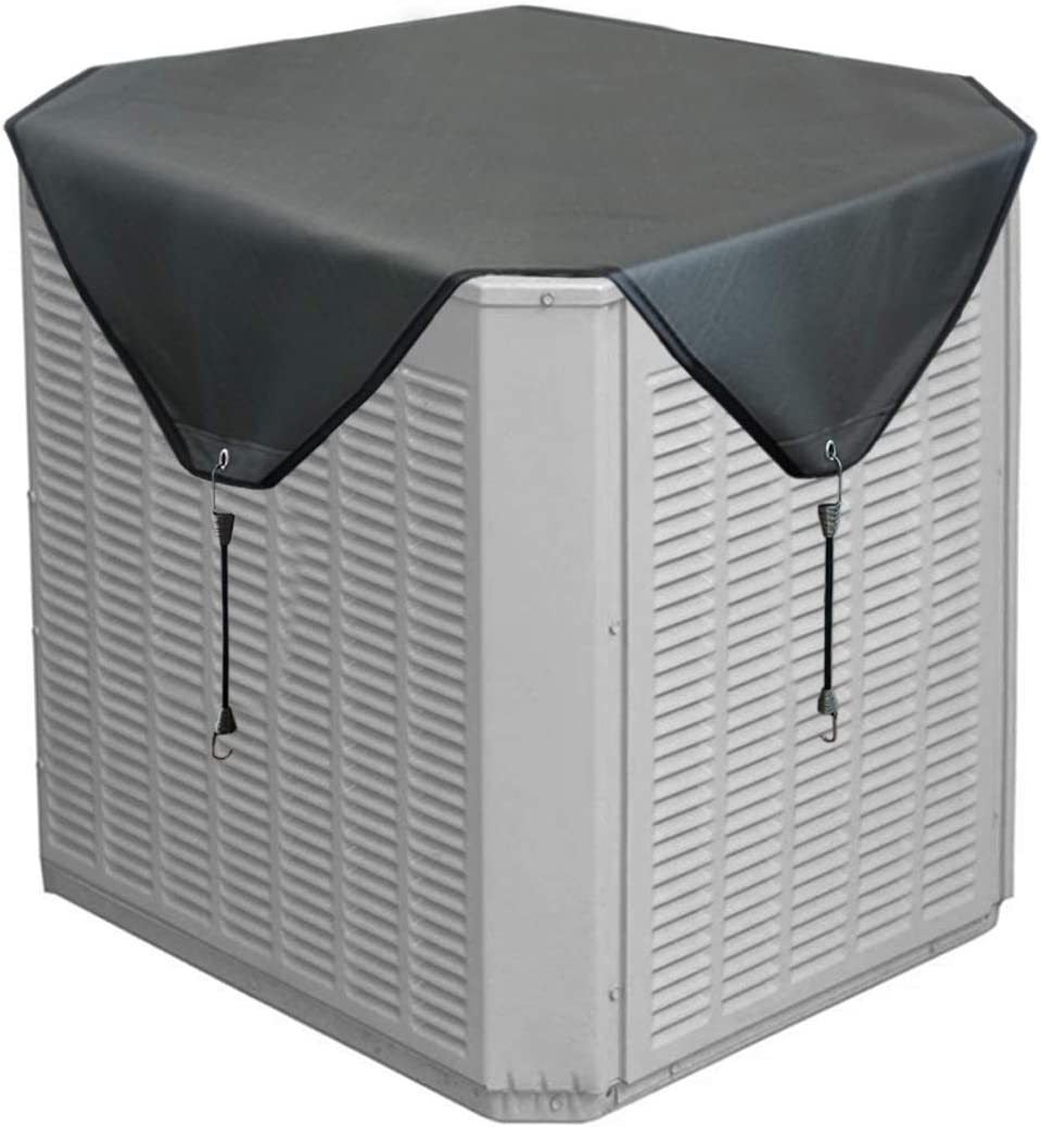 Jeacent Air Conditioner Cover for Outside Units, Heavy Duty Winter Top