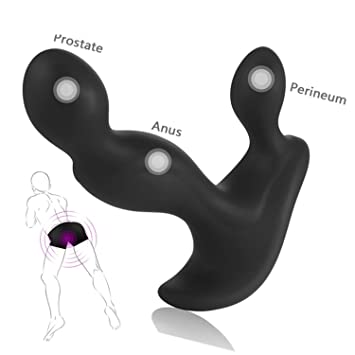 Double Vagina Anal Vibrators USB Rechargeable Anal Vibrator Silicone  Prostate Massager for Men Gay Anal Sex