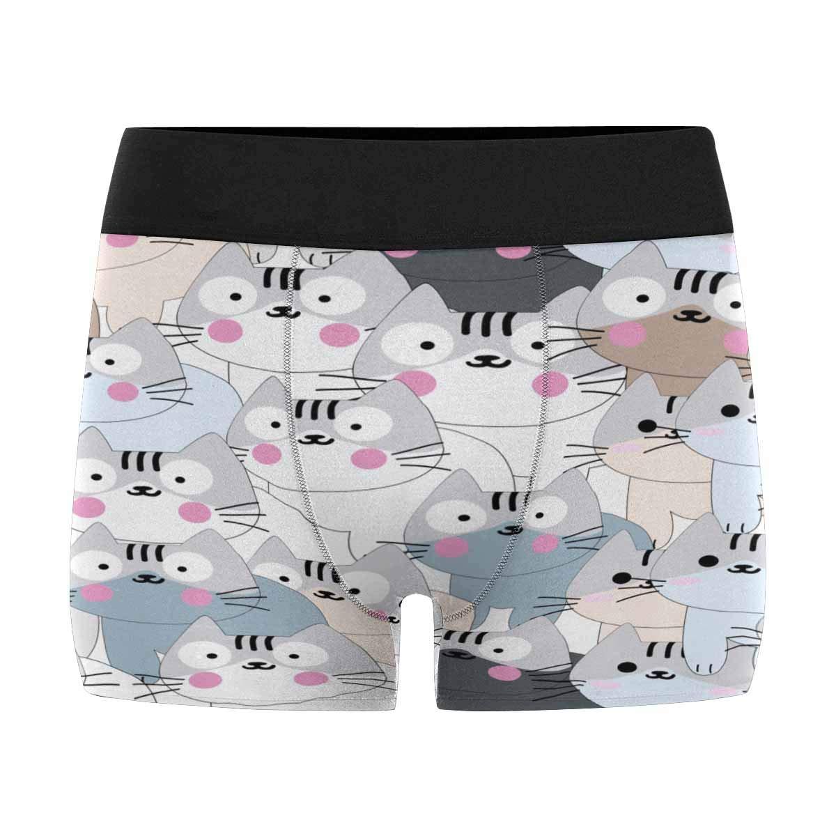 INTERESTPRINT Mens Boxer Briefs Underwear XS-3XL