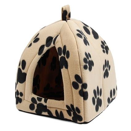 XHD-Ropa para mascotas Cama de perro Cama de mascota Cama de cueva de gato