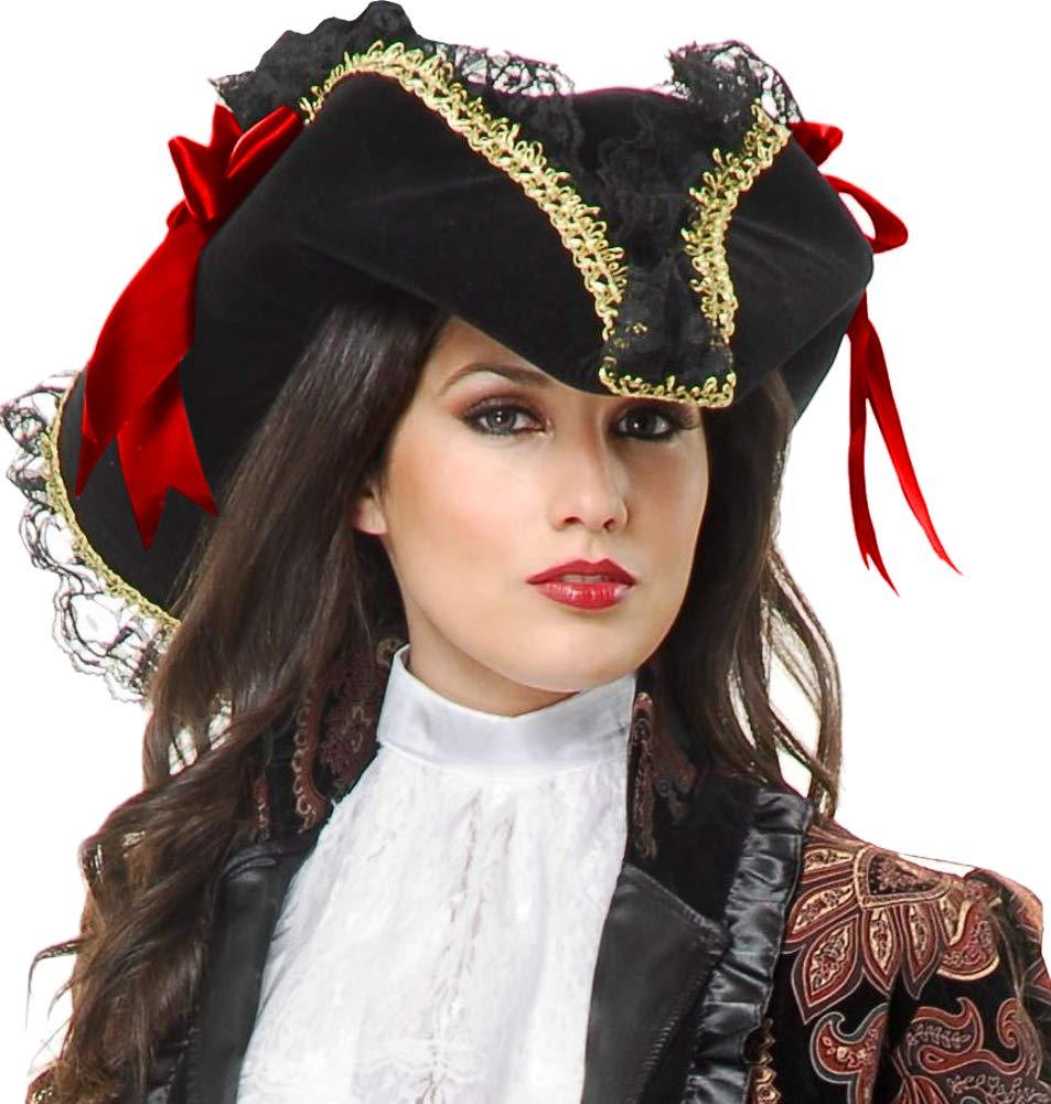 Purple Ladies Pirate Bandana Fancy Dress Velvet Costume Accessory Female