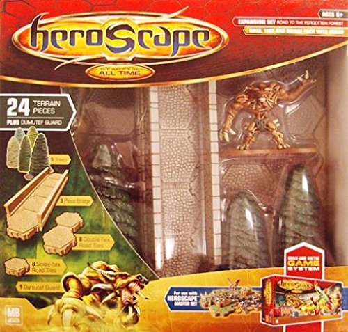 Hasbro Heroscape Large Expansion Set Road to The Forgotton Forest