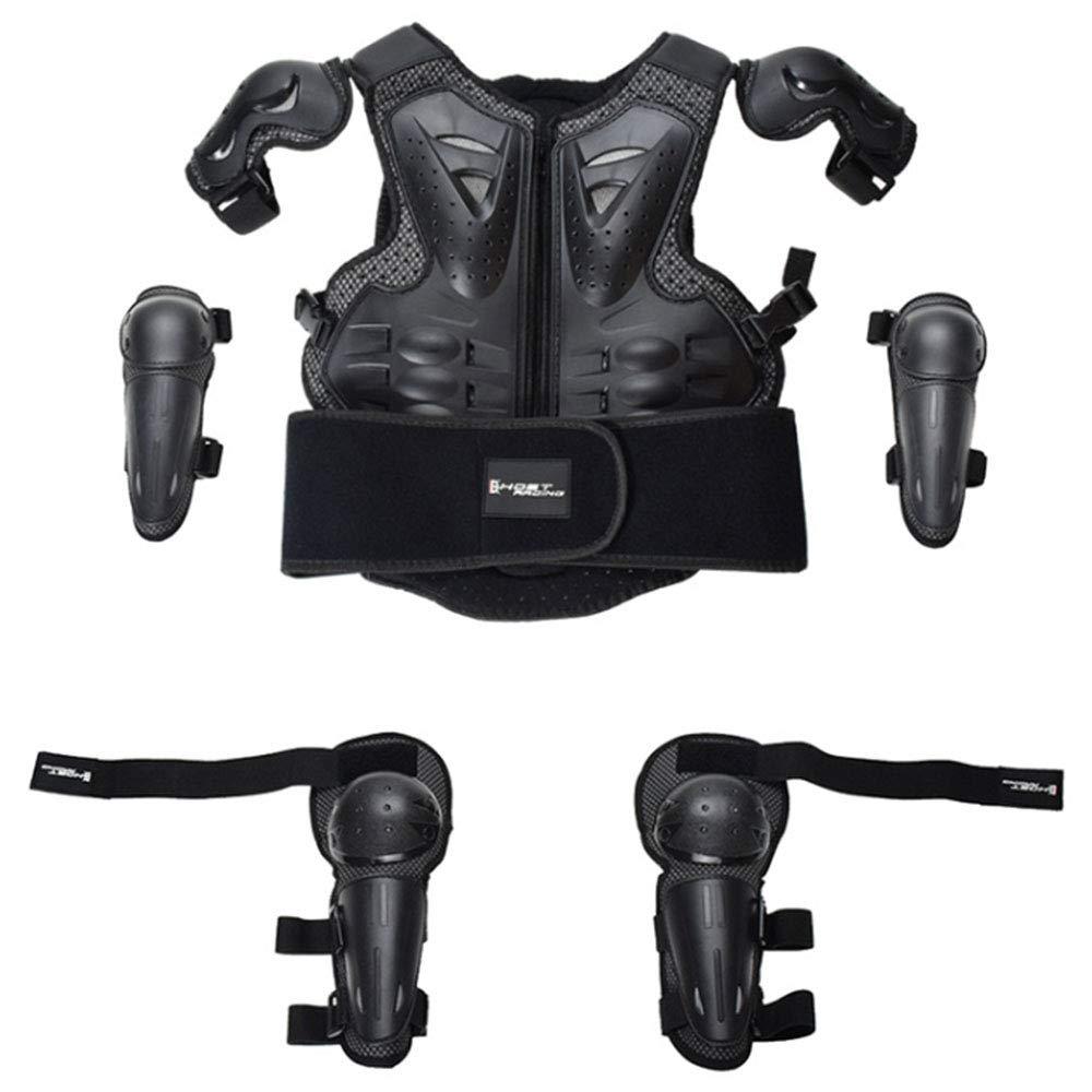 Outdoor Sports Schutzkleidung Anzug Ist Geeignet F/ür 5-14 J/ährige Kinder Motorrad-Reiten Skateboarden Und Andere Sportarten K/örperschutz XUYIN Kinderreit Armor