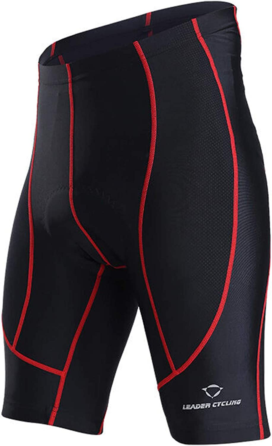 Mens Summer Cycling Shorts Gel Pad Compression Bicycle Inner Shorts Quick Dry