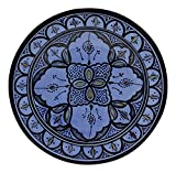 Product review for Ceramic Plates Moroccan Handmade Serving, Wall Hanging, Exquisite Colors Decorative 14 inches Diameter
