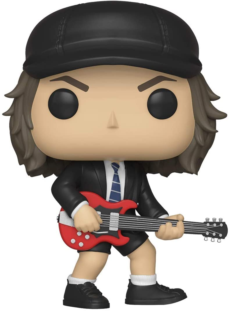 Funko- Pop Vinyl: Rocks: AC/DC: Angus Young w/Chase (Styles May Vary) Figura coleccionable, Multicolor, talla única (36318) , color/modelo surtido