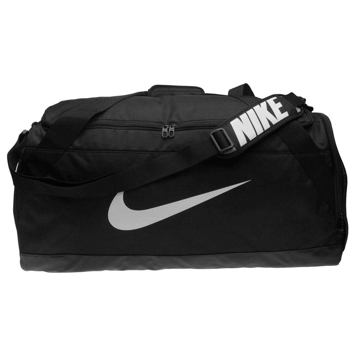 ba18057c38 Nike Brasilia Bags Holdalls Shoebag Backpack Sports Bag Kitbag Gymbag H:27  x W:73 x D:35 (cm) Large - Black: Amazon.co.uk: Luggage